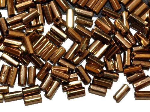 Best.Nr.:21005 Glasperlen / Stiftperlen messing,  von Preciosa Ornella Tschechien hergestellt