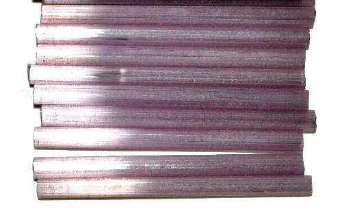 Best.Nr.:21180 Stiftperlen / Bugles von Ornella Preciosa Ornella Tschechien,  Satinglas violett