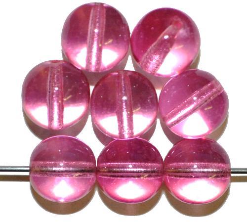 Best.Nr.:22215 Glasperlen/Wachsperlen rund mit Wachsüberzug,  hergestellt in Gablonz / Tschechien