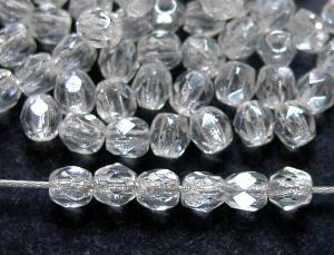 Best.Nr.:23054 facettierte Glasperlen  kristall mit lüster