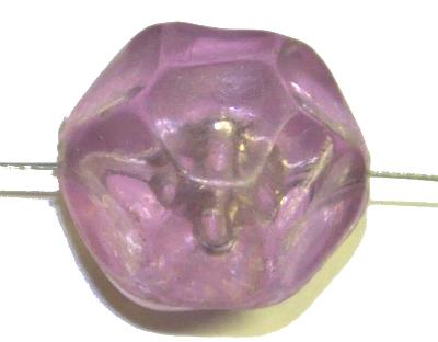 Best.Nr.:63304 Kunststoffperlen Nugget,  1960/70 in Gablonz/Böhmen hergestellt