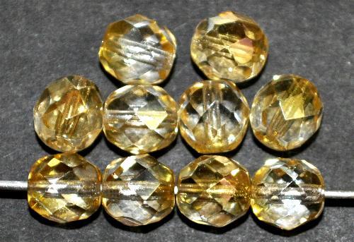 Best.Nr.:28290 facettierte Glasperlen mit ligh AB, hergestellt in Gablonz / Tschechien