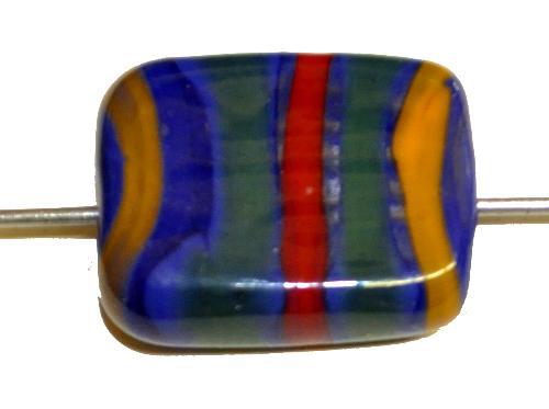 Best.Nr.:30030 Lampenperle / Wickelglasperle,  in den Jahren zwischen 1940 bis 60 in Gablonz/Böhmen von Hand gefertig,  (nur wenige auf Lager)