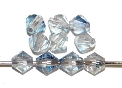 Best.Nr.:31033 mc-Schliff Glasperlen bicon kristall( blauschimmer)