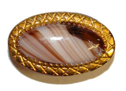Best.Nr.:43168 Glasknopf, handgefertigt, handbemalt  In Gablonz / Böhmen hergestellt.  (nur einmal auf Lager)