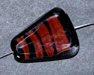 Best.Nr.:45052 Glasperlen / Lampenperle, handgefertigt in einer kleinen Manufaktur bei Gablonz /Böhmen
