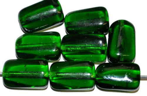 Best.Nr.:48002 Glasperlen grün transp., hergestellt in Gablonz Tschechien