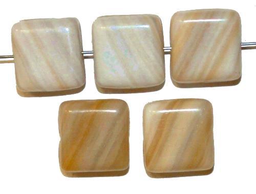 Best.Nr.:49232 Glasperlen Quadrate hergestellt in Gablonz Tschechien