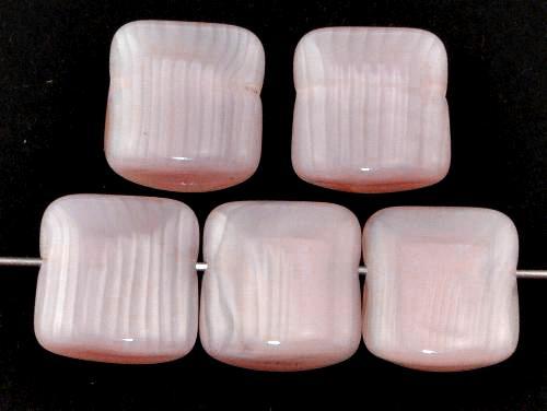 Best.Nr.:49400 Glasperlen Perlettglas blassrosa,  hergestellt in Gablonz Tschechien