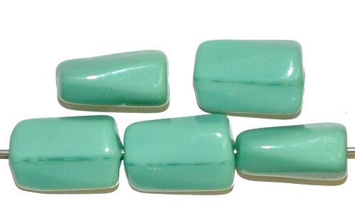 Best.Nr.:49450 Glasperlen mint opak, hergestellt in Gablonz Tschechien