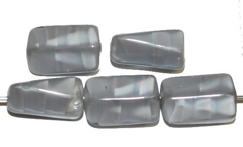 Best.Nr.:49457 Glasperlen Perlettglas grau, hergestellt in Gablonz Tschechien