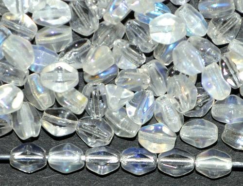 Best.Nr.:57671 Glasperlen Pinchbeads  krisrall mit AB,  hergestellt in Gablonz / Tschechien