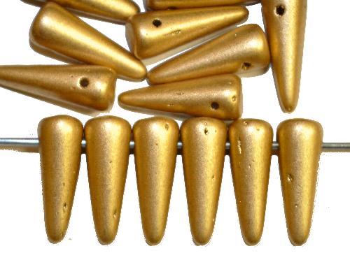Best.Nr.:58034 Glasperlen Kegelform,  metallic,  hergestellt in Gablonz / Tschechien
