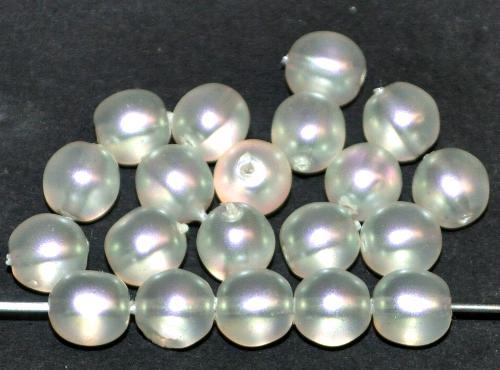 Best.Nr.:58124 Glasperlen / Wachsperlen rund mit Wachsüberzg perlmutt, hergestellt in Gablonz / Tschechien