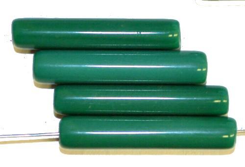Best.Nr.:63095 Glasperlen aus Gablonz/Böhmen um 1930 hergestellt, grün opak, Trade Beads für den Afrikahandel
