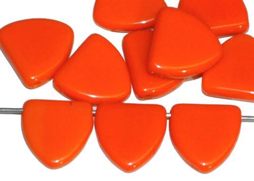 Best.Nr.:63162 Glasperlen in der Zeit von 1920 bis 1930 in Gablonz/Böhmen hergestellt, orange opak