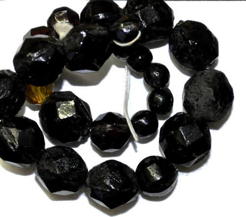 Best.Nr.:63463 Glasperlen Mix,  in den 1920 bis 40 Jahren in Gablonz/Böhmen hergestellt,  (nur einmal auf Lager)