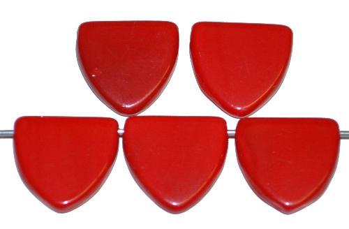Best.Nr.:63527 Glasperlen in der Zeit von 1920 bis 1930 in Gablonz/Böhmen hergestellt, rot opak