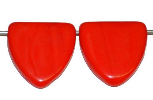 Best.Nr.:63587 Glasperlen in der Zeit von 1920 bis 1930 in Gablonz/Böhmen hergestellt, hellrot opak