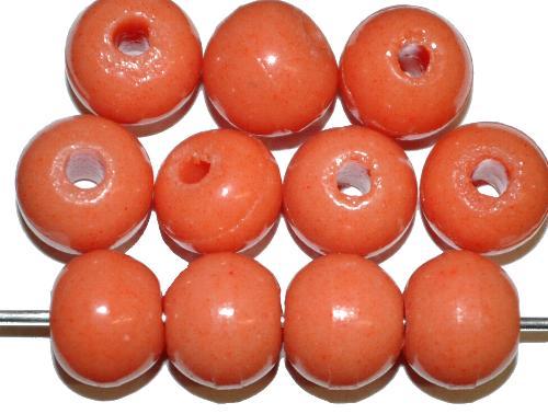 Best.Nr.:63666 Glasperlen rund (Prosserbeads)   in den 1920/30 Jahren in Gablonz/Böhmen  hergestellt