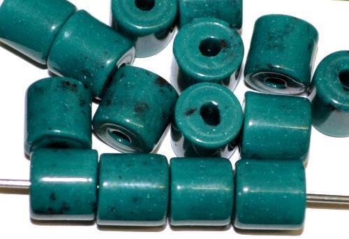Best.Nr.:63858 Glasperlen ( tilt-beads )  in den 1930/40 Jahren in Gablonz/Böhmen  hergestellt, (Prosserbeads)