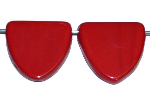 Best.Nr.:63864 Glasperlen in der Zeit von 1920 bis 1930 in Gablonz/Böhmen hergestellt, rot opak