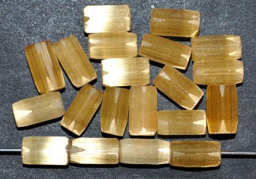 Best.Nr.:63882 geschliffene Glasperlen, satin Glas, um 1940/50 in Gablonz/Böhmen hergestellt