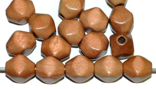 Best.Nr.:66004 Holzperlen hellbraun, hergestellt in Smržovka / Tschechien