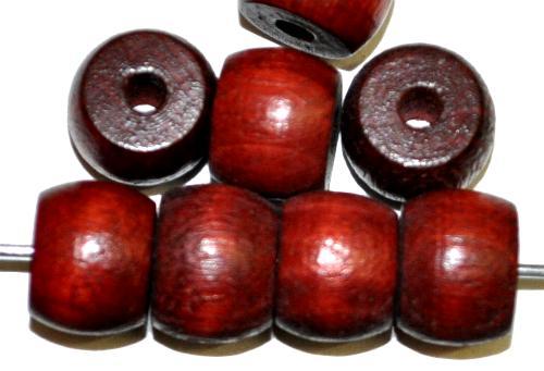 Best.Nr.:66048 Holzperlen braun, hergestellt in Smržovka / Tschechien