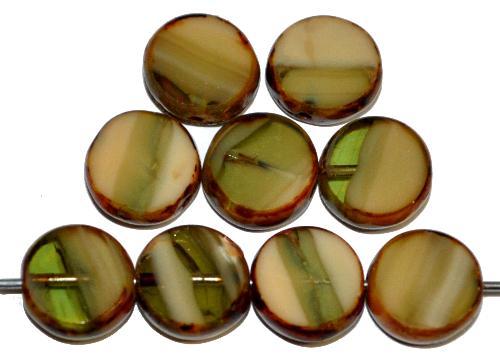 Best.Nr.:67014 Glasperlen / Table Cut Beads  geschliffen