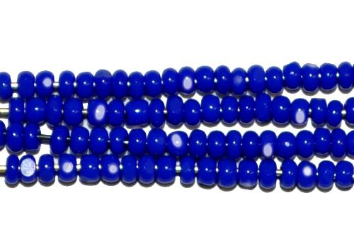 Best.Nr.:77002 Cut Rocailles / Charlottes (angeschliffene Rocailles) von Preciosa Tschechien dunkelblau opak