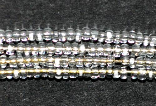 Best.Nr.:77021 Cut Rocailles / Charlottes (angeschliffene Rocailles) von Preciosa Tschechien kristall