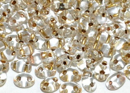 Best.Nr.:78012 Twin Beads von Ornella Preciosa Tschechien kristall mt Messingeinzug