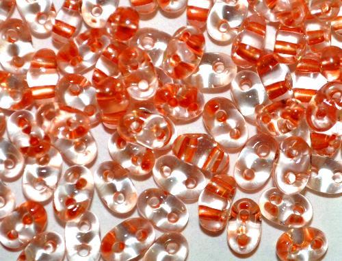 Best.Nr.:78016 Twin Beads von Ornella Preciosa Tschechien kristall mt Cupfereinzug