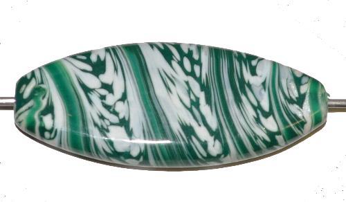 Best.Nr.:80178 Wickelglasperle / Lampenperle, in Gablonz / Tschechien handgefertigt, Einzelstück