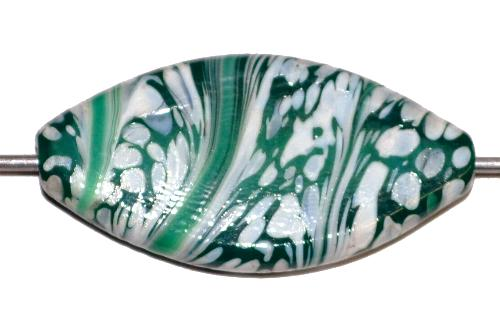 Best.Nr.:80179 Wickelglasperle / Lampenperle, in Gablonz / Tschechien handgefertigt, Einzelstück
