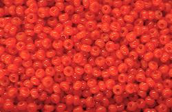 Best.Nr.:15004 Rocailles von Ornella Preciosa Tschechien orangerot