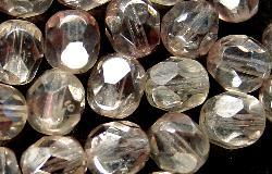 Best.Nr.:23040 facettierte Glasperlen zartviolett kristall mit lüster