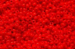 Best.Nr.:15012 Rocailles von Ornella Preciosa Tschechien rot