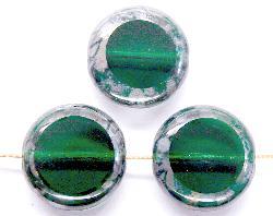 Best.Nr.:67482 Glasperlen / Table Cut Beads geschliffen mit picasso finish
