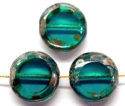 Best.Nr.:67484 Glasperlen / Table Cut Beads geschliffen mit picasso finish