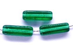 Best.Nr.:49066 Glasperlen  Rechteck smaragdgrün