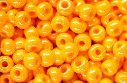 Best.Nr.:03068 Rocailles von Ornella Preciosa Tschechien, orange /schimmernd (lüster)