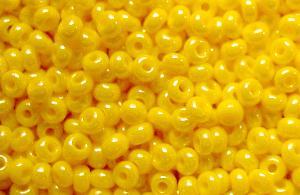 Best.Nr.:03069 Rocailles von Ornella Preciosa Tschechien, gelb /schimmernd (lüster)