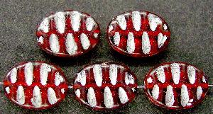 Best.Nr.:59105 Antikstyle Glasperlen, nach alten Vorlagen aus den 1930/40 Jahren neu gefertigt mit Silberauflage