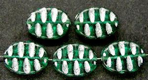 Best.Nr.:59113 Antikstyle Glasperlen, nach alten Vorlagen aus den 1930/40 Jahren neu gefertigt mit Silberauflage