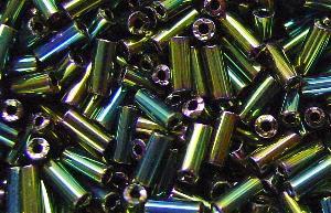 Best.Nr.:21041 Schtiftperlen hergestellt von Preciosa Ornella Tschechien, metallic