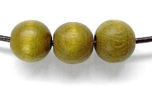 Best.Nr.:66038 Holzperle rund  oliv