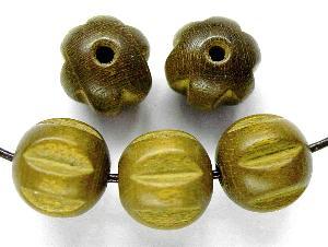 Best.Nr.:66037 Holzperle oliv