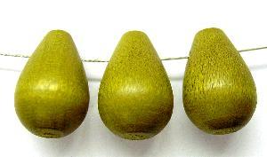 Best.Nr.:Ol-66039 Holzperle oliv, hergestellt in Smržovka / Tschechien